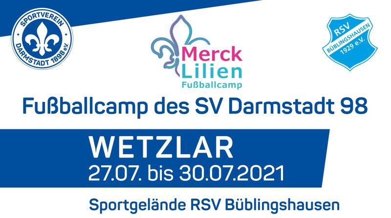 Lilien-Camp: Jetzt anmelden für Fußball-Spaß in den Sommerferien!