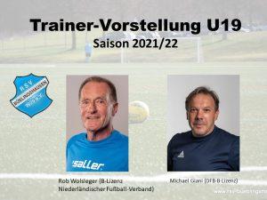 Read more about the article Trainervorstellung für die nächste Saison: Kontinuität bei der U19
