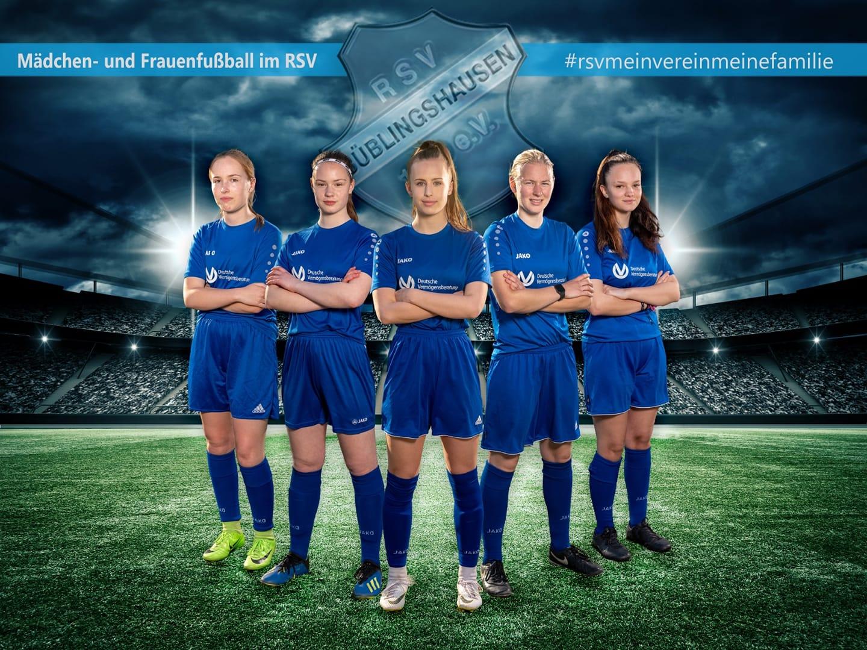 Komm jetzt ins Team! Frauenfußball im RSV