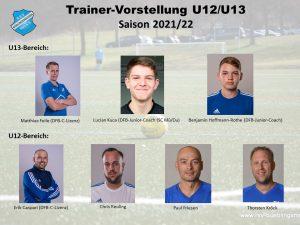 Read more about the article Trainervorstellung Saison 2021/22: Feile coacht Gruppenliga-U13 – Caspari führt U12 als Perspektivteam