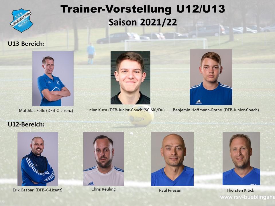 You are currently viewing Trainervorstellung Saison 2021/22: Feile coacht Gruppenliga-U13 – Caspari führt U12 als Perspektivteam