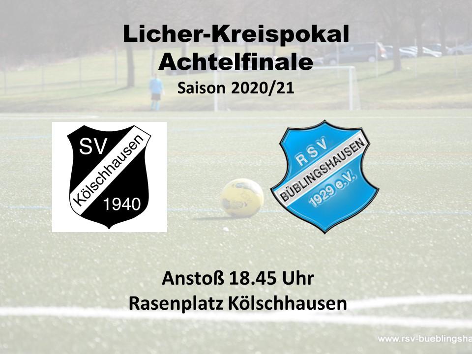 You are currently viewing Kreispokal-Achtelfinale: RSV als Favorit nach Kölschhausen