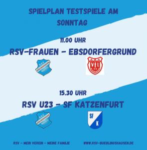 Read more about the article RSV-Erste unterliegt Bicken – Frauen und U23 testen Sonntag