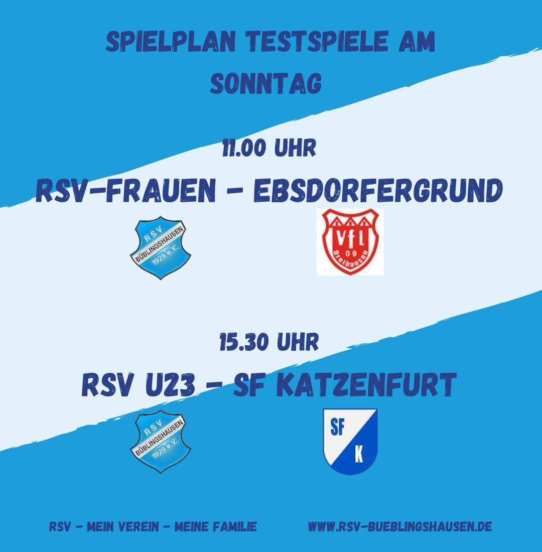 You are currently viewing RSV-Erste unterliegt Bicken – Frauen und U23 testen Sonntag