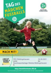 "Read more about the article ""Tag des Mädchenfußballs"" 2021 beim RSV"