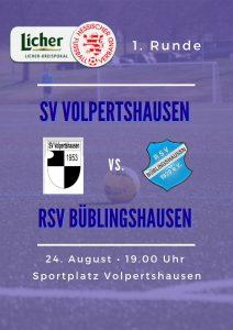 Read more about the article Auslosung Kreispokal: RSV reist nach Vopertshausen