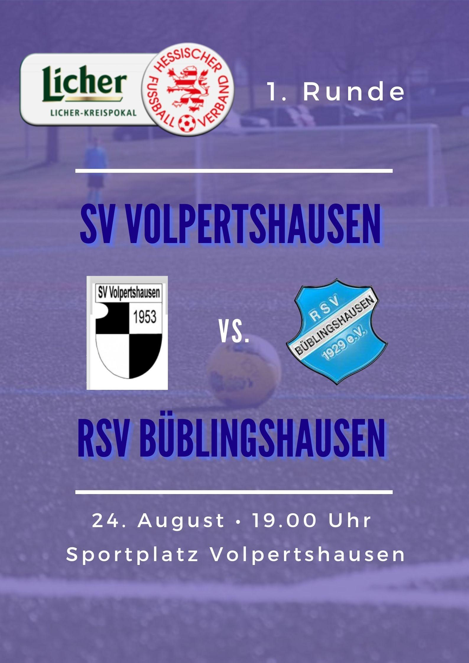 You are currently viewing Auslosung Kreispokal: RSV reist nach Vopertshausen