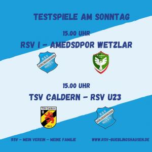 Read more about the article Letzte Härtetests für RSV-Teams vor Rundenstart