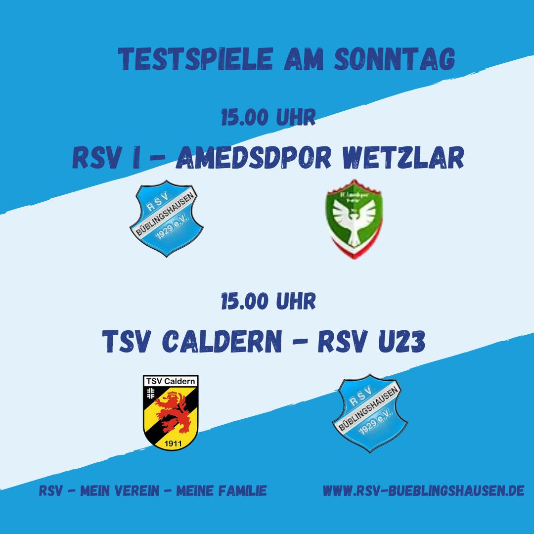 You are currently viewing Letzte Härtetests für RSV-Teams vor Rundenstart