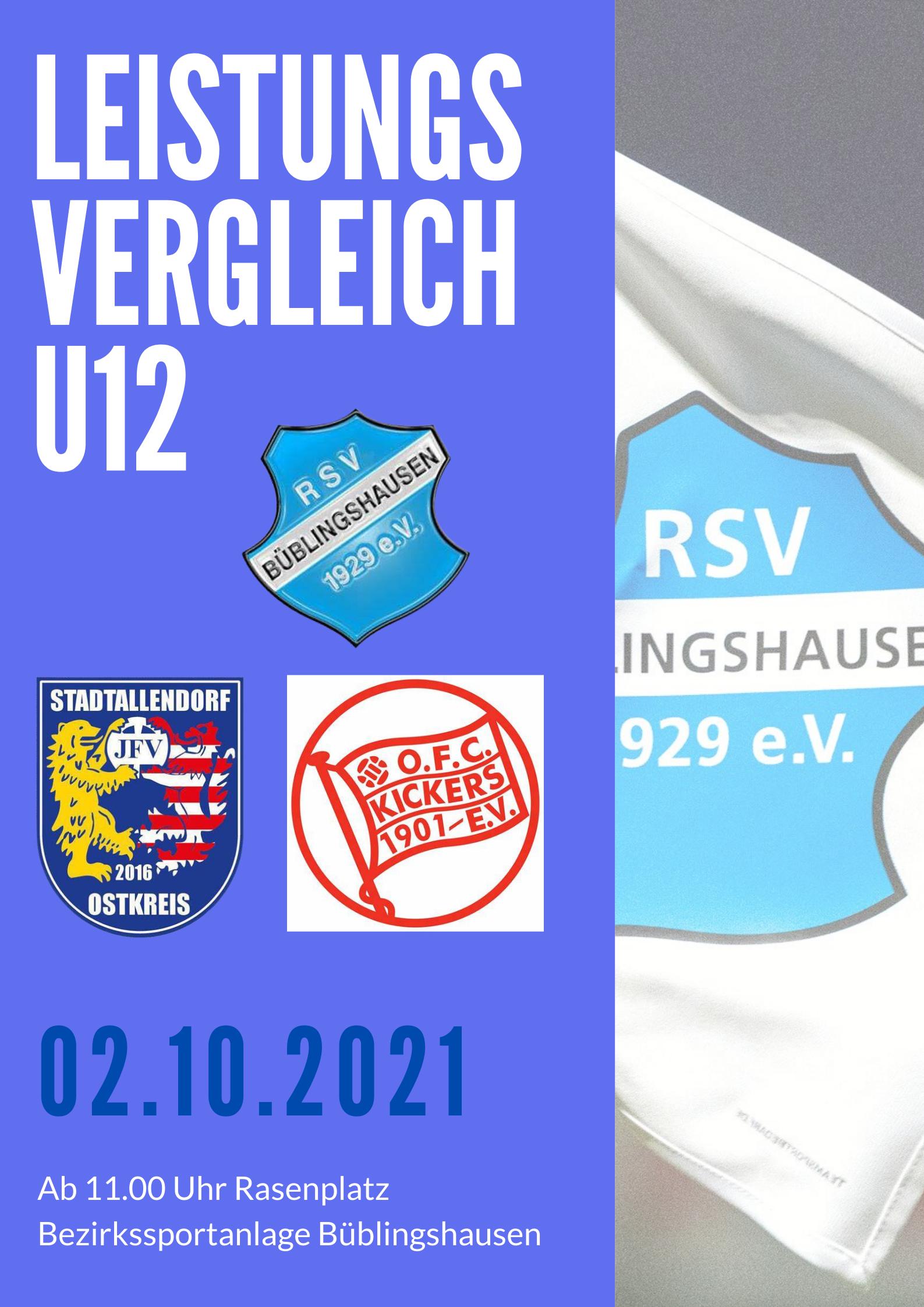 You are currently viewing Leistungsvergleich U12 am Samstag mit den Offenbacher Kickers